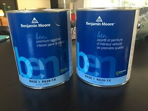 2 unopened Gallons of Classic Grey Paint