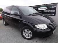 2007 07 CHRYSLER GRAND VOYAGER 2.8 CRD EXECUTIVE XS 5D AUTO 151 BHP DIESEL BLACK