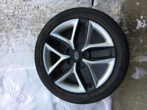4 2012 Kia Forte Koup All Season Tires