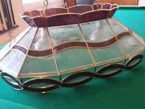 Stained Glass light - pool table light