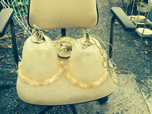 PEACH COL. SWAG LIGHT FIXTURE Belleville Belleville Area image 1