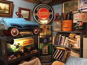 NICE OLD METAL TOY COLLECTION