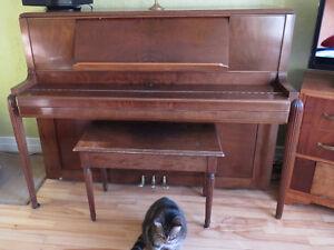 Piano acoustique a vendre
