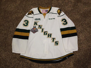 London Knights AHL NHL Game Worn Jersey's For Sale