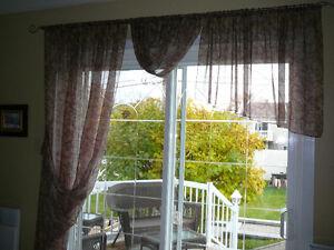 Habillages de fenêtres