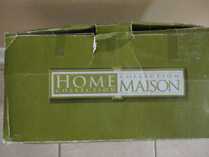 Brand new set of 4 canister with wooden spoon kitchen storage London Ontario image 3