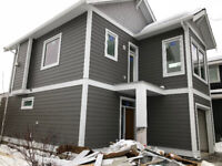 Hardie and vinyl siding, soffit and gutter