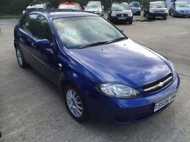 Chevrolet Lacettie 1.6 SX in 2006 model. Comes with 12 months m.o.t and service history