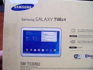 Samsung Galaxy Tab4, 10.1 Pouces, 4 Coeurs, 16Gb, Comme NEUF