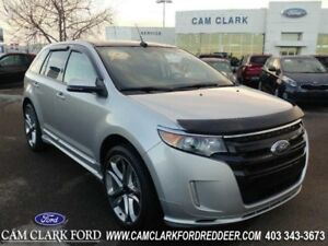 2014 Ford Edge Sport  Certified Pre-Owned New Tires Roof Navigat