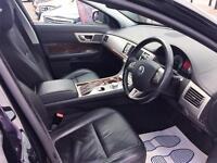 2010 Jaguar XF 3.0 TD V6 Luxury 4dr Diesel black Automatic