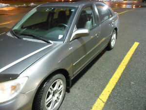 2005 Honda Civic LX-G Berline 118 000KM IMPECCABLE