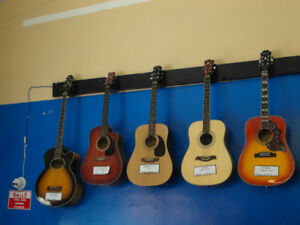 Guitars: Acoustic,Electric,Bass