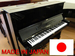 Used Black Yamaha Upright Piano for Sale – Mint Condition