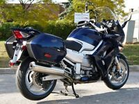2012 YAMAHA FJR1300 ABS BLUE MINT ONLY 6400 KM NEW TIRES EXTRAS