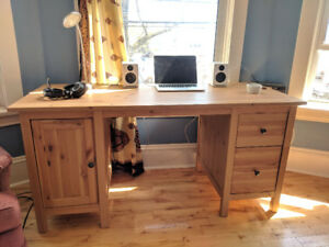 IKEA HEMNES DESK AND MALKOLM CHAIR FOR SALE