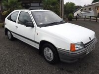 Mk2 Vauxhall astra with only 24,000 miles 1.3L NOT CORSA NOVA CAVALIER CALIBRA