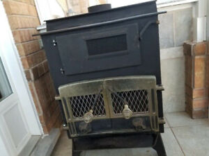 Wood Burning STOVE CAST IRON with stove