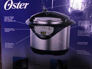 Oster 5 quart digital pressure cooker