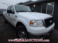 2007 FORD F150 SUPERCREW 4WD