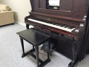 PLAYER PIANO /W/ ROLLS London Ontario image 2