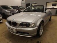 BMW 3 SERIES 320CI Silver Manual Petrol, 2002