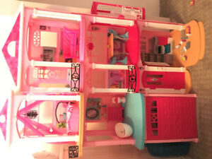 Barbie Dream House Kijiji In Edmonton Buy Sell Save With