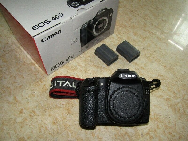$250 only! Canon 40D with Eyepiece Extender (EP-EX15) and Extra Battery