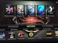 Amazon Fire tv stick, fully loaded kodi 16.1 - movies,sports, tv shows,kids,fitness,music etc
