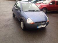 Ford KA (2005) not BWM, VW, JAGUAR, Vauxhall