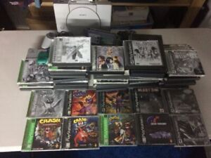 PS1, Accessories and Games