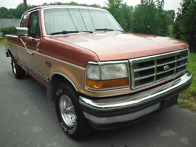 1994 Ford F-150 XLT 1994 Ford F-150 XLT 4X4 Extra Cab 5.8 Liter 8 Cylinder Cold Air Conditioning