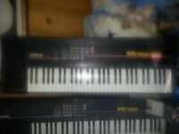 Ensoniq Mirage Two 2 of them - $200