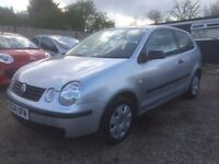VW POLO 1.2 TWIST 3DR 2004 IDEAL FIRST CAR CHEAP INSURANCE * HPI CLEAR