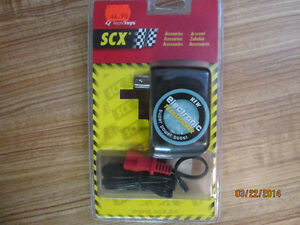 Électronic Transformer pour piste de course SCX.