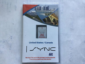 Ford SYNC Navigation System - A6 Map Update SD card (U.S
