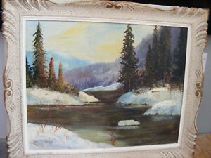 ORIGINAL OIL WORKS by    F. J. Briant London Ontario image 10