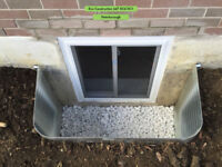 ENLARGE SMALL BASEMENT WINDOWS to CUSTOM SIZE EGRESS ESCAPE