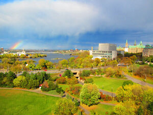 EXECUTIVE MILLION $ VIEW OVERLOOKING OTTAWA RIVER/PARL/SUPR CRT!