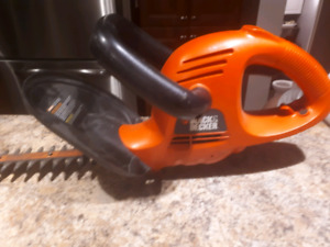 Coupe haie black&Decker