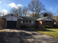 ANCASTER bungalow available January 1 for rent
