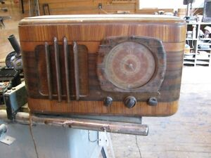 various vintage and antique radios