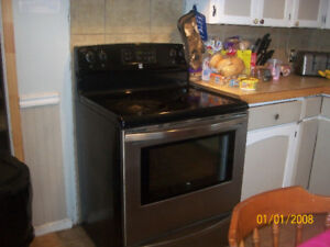 Stainless steel stove for sale.Works great.Asking 400.00