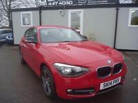 2014 14 BMW 1 SERIES 2.0 116D SPORT 3D 114 BHP DIESEL