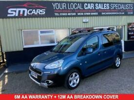 image for 2014 Peugeot Partner 1.6 HDI TEPEE OUTDOOR 5d 112 BHP MPV Diesel Manual