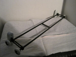 "Brand New Metal and Ceramic Double 24"" Towel Bar"