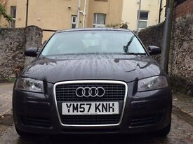 AUDI A3-2008/2.0 TURBO/A3 SE TFSI S/BACK A/5 Doors/6 Speed-automatic/s-tronic