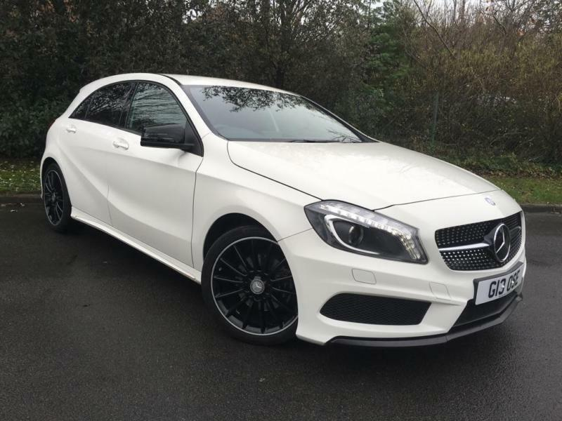 2015 mercedes benz a class 1 6 a200 amg night edition 5dr in bournemouth dorset gumtree. Black Bedroom Furniture Sets. Home Design Ideas