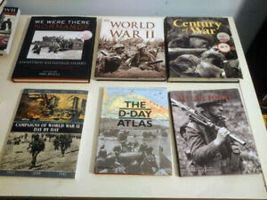 Collection of 31 First and Second World War Books