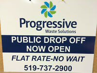 **NOW OPEN ** PUBLIC DROP-OFF